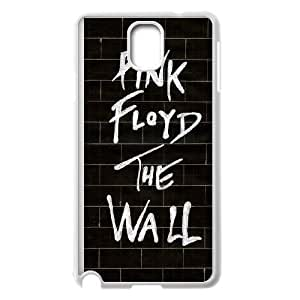 (PTGA) Samsung Galaxy Note 3 Cell Phone Case White Pink Floyd