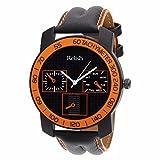 Relish-568 Stylish Orange & Black Case A...