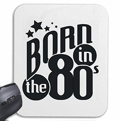 Born in the 80s Mousepad Gift