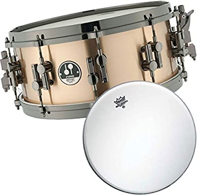 Sonor Artist AS12 1406 BRB SDBD Bronce Snare Drum + Remo Ambassador Coated Fell 14