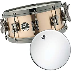 Sonor Artist AS12 1406 BRB SDBD Bronze Snare Drum + Remo Ambassador Coated Drumhead 14 Inches