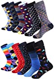 Marino Avenue - Herren Socken - Baumwolle - bunt gemustert - 12er-Pack, Stil - 3, 39 - 42
