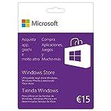 Microsoft K6W-00351Geschenk Karte 15Euro Spiel Karte