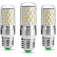 LOHAS ® 9Watt E27 LED Candela Bulbi, 1000Lumen, 80watt Lampadina ad Incandescenza Equivalente, Bianco Caldo 2700K, non Dimmerabile, Piccole Edison vite Candela Lampadine, 220-240V AC, Confezione da 3