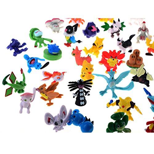 Seguryy Mignon(2cm-3cm)Pokemon Figures Toy Doll Cadeaux Style Party aléatoire(1jouet=72pcs)