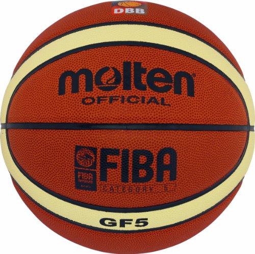 Molten Basketball, BGF7, Größe 7, creme/orange