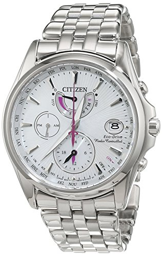 Citizen Uhr Eco-drive Damen (Citizen Damen-Armbanduhr Analog Quarz Edelstahl FC0010-55D)