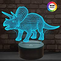 Night Light for Kids Ocean Dolphin 3D Night Light Porpoise Bedside Lamp 7 Color Changing Xmas Halloween Birthday Gift for Child Baby Boy