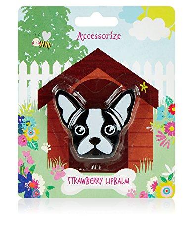 accessorize-damen-french-bulldog-erdbeer-lippenbalsam-einheitsgrosse