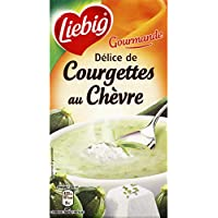 Liebig - Delice de courgettes au chevre - La brique de 1l - Prix Unitaire - Livraison Gratuit Sous 3 Jours