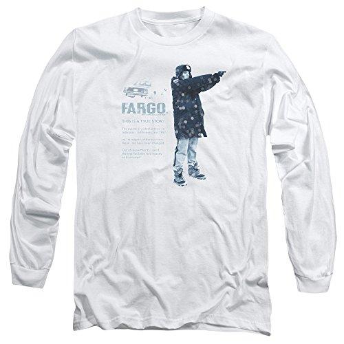 Fargo -  Maglia a manica lunga  - Uomo White