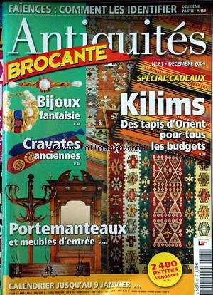 ANTIQUITES BROCANTE [No 81] du 01/12/2004