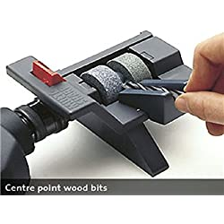 Multi-Sharp 2001 Foret universel et affûteur d'outils 3-13mm de diamètre (HSS, bois plat, maçonnerie, SDS-Plus et Brad-Point) - Noir