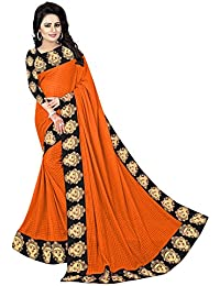 J B Fashion Synthetic Saree with Blouse Piece