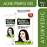 Roop Mantra Zero Pimple Gel 15gm, Pack of 2 (Anti Acne Pimple Gel for Men & Women)