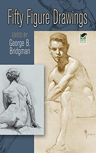 Fifty Figure Drawings (Dover Anatomy for Artists) (English Edition)