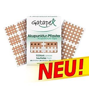 Gatapex Gitter Akupunktur-Pflaster (3 Größen) Hautfarbe
