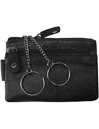 "Schlüsseletui, ""BIG KEY"", 105880 002, Damen und Herren Schlüsseletui, Leder, schwarz"