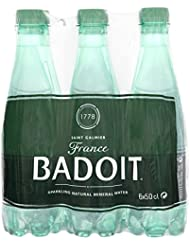 Badoit Naturally Sparkling Mineral Water, 6 x 500 ml