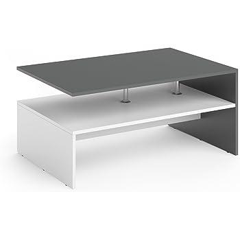 design Couchtisch Beton Ablage edler Wohnzimmertisch moderner Sofatisch günstig