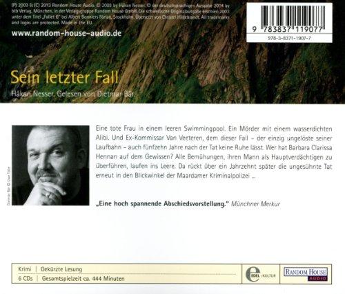 Sein letzter Fall (Die Van-Veeteren-Krimis, Band 10): Alle Infos bei Amazon