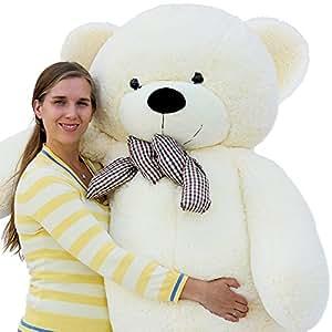 """Joyfay marca Grande Orsacchiotto 200cm 78"""" orso di peluche gigante bianco Giocattoli di pezza morbido E tenero per Adulto Bambina"""