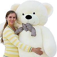 """Joyfay marca Grande Orsacchiotto 200cm 78"""" orso di peluche gigante bianco Giocattoli di pezza morbido E tenero per Adulto Bambina peluche giganti orso peluche gigante orso gigante"""
