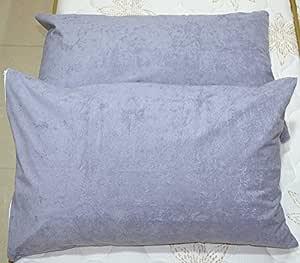 "Trance Home Linen Waterproof & Dustproof Pillow Protector 20"" X 36"" (Grey)"