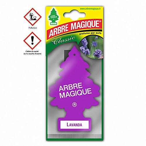 Arbre Magique Lavande - Accessoire Désodorisant Voiture - 201