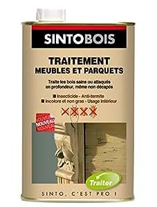 Sinto 815011 Aérosol pour traitement spécial meubles/parquets 0,5 L