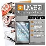 uwazi 3X Glas-klare Schutzfolie für Amazon Fire HD 8 (Modell 2017) Displayschutzfolie I Folie I Anti Fingerabdruck I Anti Kratzer