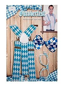 Folat 63448Acqua Oktoberfest Set de Accesorios para Hombres
