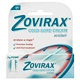 Zovirax Cold Sore Relief Treatment Cream Pump 5% - 2g Pump
