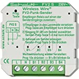Schalk Funk-Sender UP FV2 S (230V AC) 4 Eingänge Funksender 4046929101264