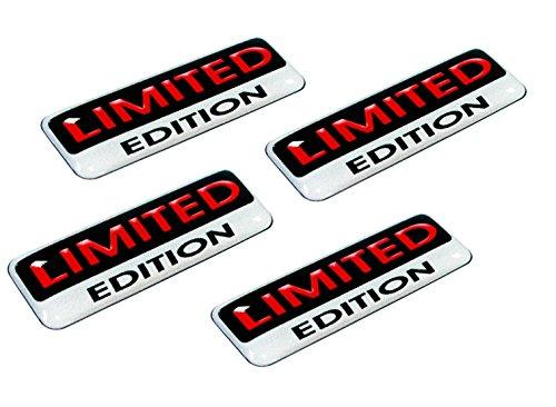 4 x Aufkleber 3D Gel Silikon Stickers Limited Edition Auto Moto Motorrad Fahrrad Skate Fenster Tür PC Tablet Laptop Tuning E 5 (Skate Edition)