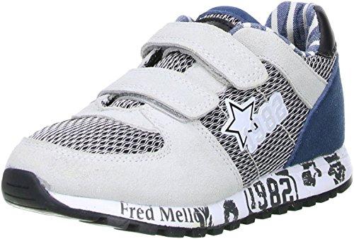 Fred Mello Kinder Jungen Halbschuhe Sneaker mehrfarbig Mehrfarbig