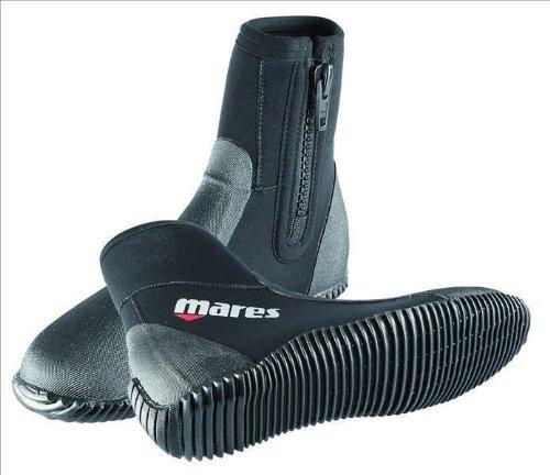 Mares Unisex-Erwachsene Dive Boot Classic NG 5 mm Schutzstiefel, Schwarz (BK), 47 EU