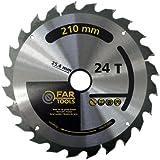 Fartools 113811 Lame Diamètre 210 mm Noir