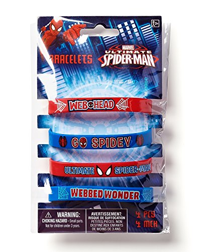Image of Spider-Man Rubber Wristbands