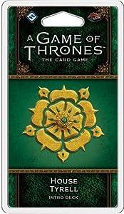 Fantasy Flight Games FFGGT41 House Tyrell Intro Deck: Juego de Tronos, Multicolor