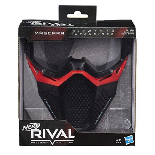Nerf - Rival Máscara, Color Rojo (Hasbro B1616SC3)
