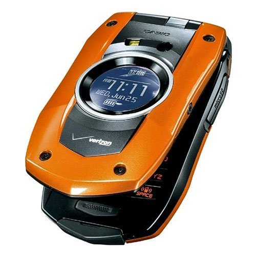 PCD Casio C711 GzOne Boulder Replica Dummy Telefon/Spielzeug Handy (orange)