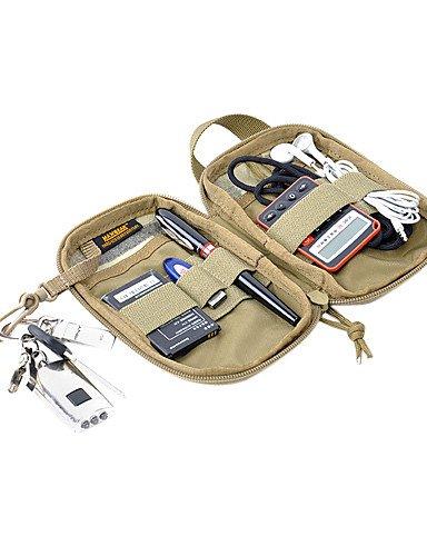 ZQ MAXGEAR Tasche Geldbörse mit Gummiband und High Intensity Griff Black