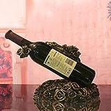 Du lijun Europeo classic in resina mestiere creativo vite rosa vino rack mobili salotto ornamenti decorativi , 28*19*21
