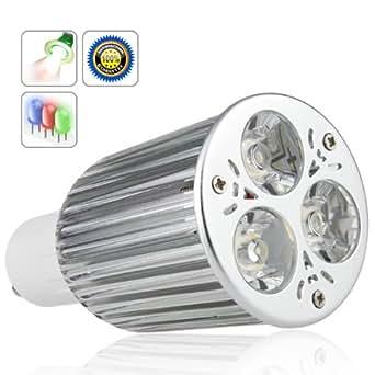 6W GU10 BLANC CHAUD LED LIGHT ENERGY SAVING SPOT ampoule 50W Lumens de luminosité
