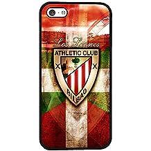 Personalizado iphone 5C funda Athletic Clubde Bilbao Football Club a prueba de polvo antideslizante Rígida para Teléfono móvil para iphone 5C