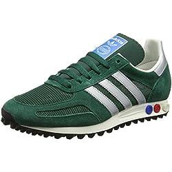 adidas la Trainer Og, Zapatillas Para Hombre, Verde (Collegiate Green/Matte Silver/Collegiate Green), 42 EU