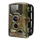 Trail Kamera, FUNANASUN Wild Jagd Kamera 1080P 16 MP 6,1cm LCD mit Infrarot-Bewegungsmelder, Night Vision Weitwinkel 0.2s Trigger Speed, Wasserdicht Animal Tracking Außen Outdoor Überwachungskamera