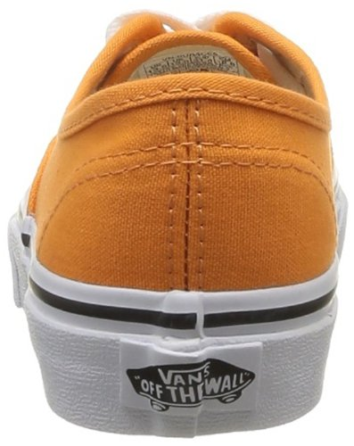 Vans K Authentic Sneaker, Unisex Bambino Arancione (Sun Orange/True White)