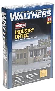 Walthers Cornerstone Escala H0 Kit construcción pequeño Edificio de oficinas